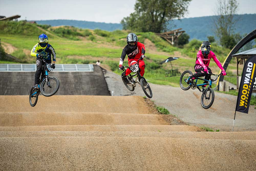 BMX Race Track at Woodward PA
