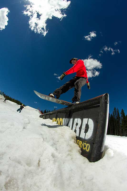 Ted Borland at Woodward Copper